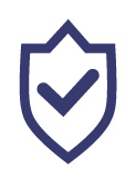 icon security shield with checkmark